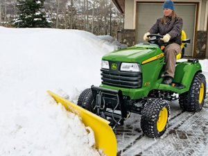 Snow Plowing Rye NY - Green Gold Landscaping