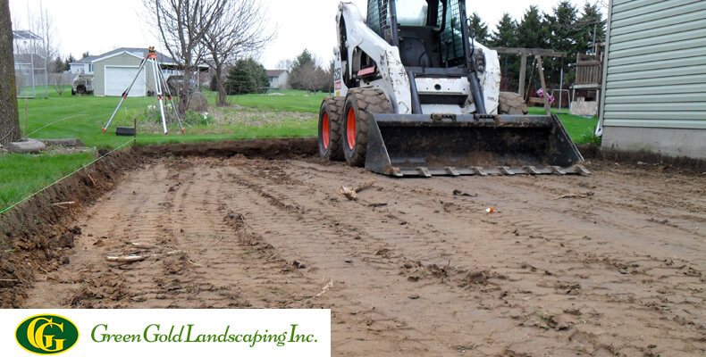 What Is Landscape Grading Green Gold Landscaping Inc