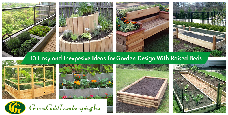 10 Easy And Inexpensive Ideas For Garden Design With Raised Beds