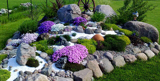 Rock Monuments Landscaping Ideas With Rocks