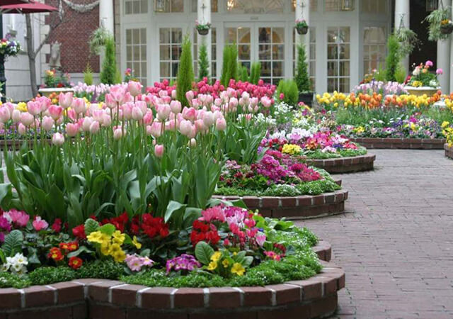 15 Unique Flower Bed Ideas For Lawn Lovers Greengold Landscaping