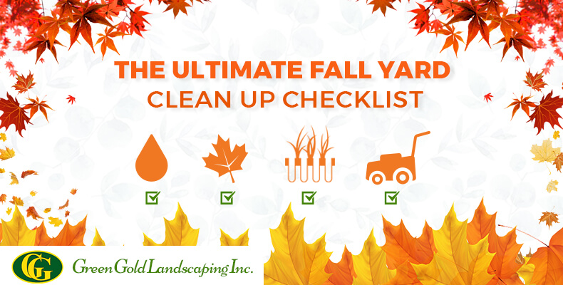 The ultimate fall cleanup landscaping checklist green for Fall yard clean up checklist