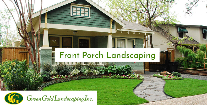 Front Porch Landscaping Westchester Ny Green Gold Landscaping Inc