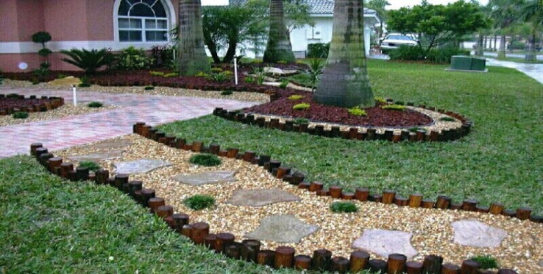First Inexpensive Landscaping Ideas For Your Yard Borders