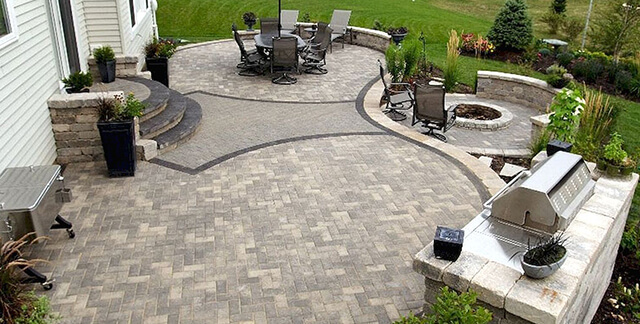 Patios Hardscaping Ideas For Backyards